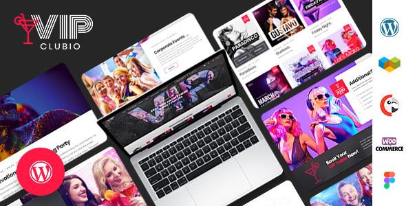 Clubio - Night Club WordPress Theme