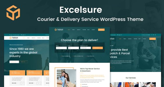 Excelsure - Courier Delivery WordPress Theme