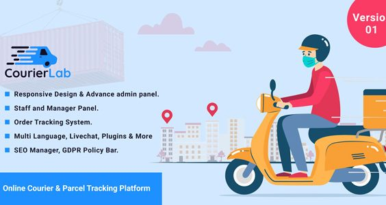 CourierLab - Online Courier And Parcel Tracking Platform