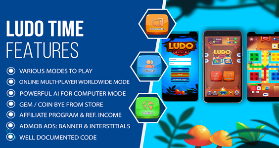 Ludo Time - Multiplayer Online Ludo Game