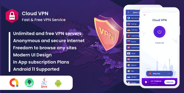 Cloud VPN : Fast And Secure VPN