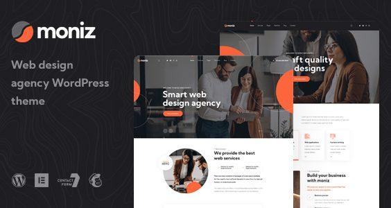 Moniz - Web Design Agency WordPress Theme