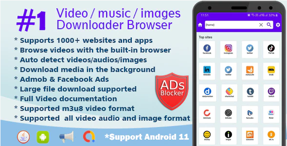 Lion Browser All in one video downloader browser