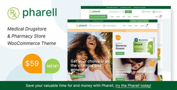 Pharell - Medical & Pharmacy Store