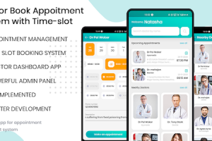 Doctor Finder - Appointment Booking With Time-slot app