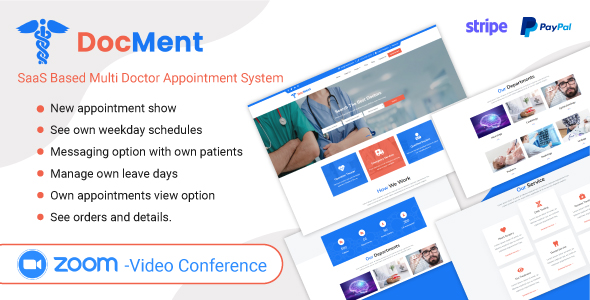 DocMent - SaaS Based Multi Doctor Appointment System