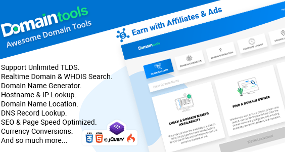 DomainTools - Awesome Domain Tools