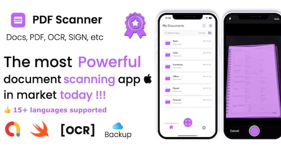 PDF Scanner iOS document Scanner