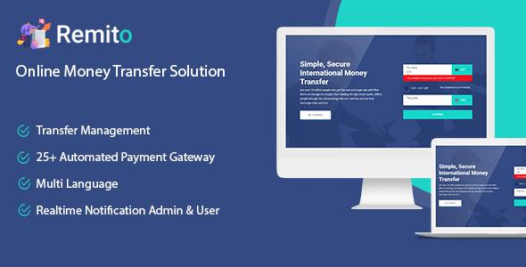 Remito - Online Money Transfer Solution