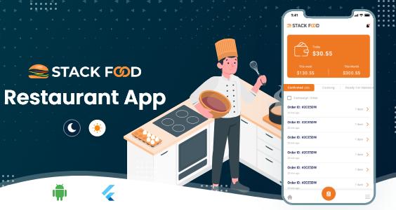 StackFood Multi Restaurant - Food Ordering Restaurant App V1.1