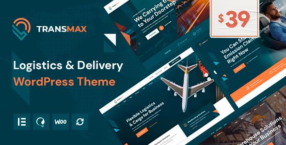 Transmax - Logistics & Delivery Company WordPress Theme