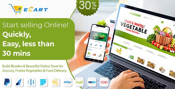 eCart Web - Ecommerce / Store Full Website